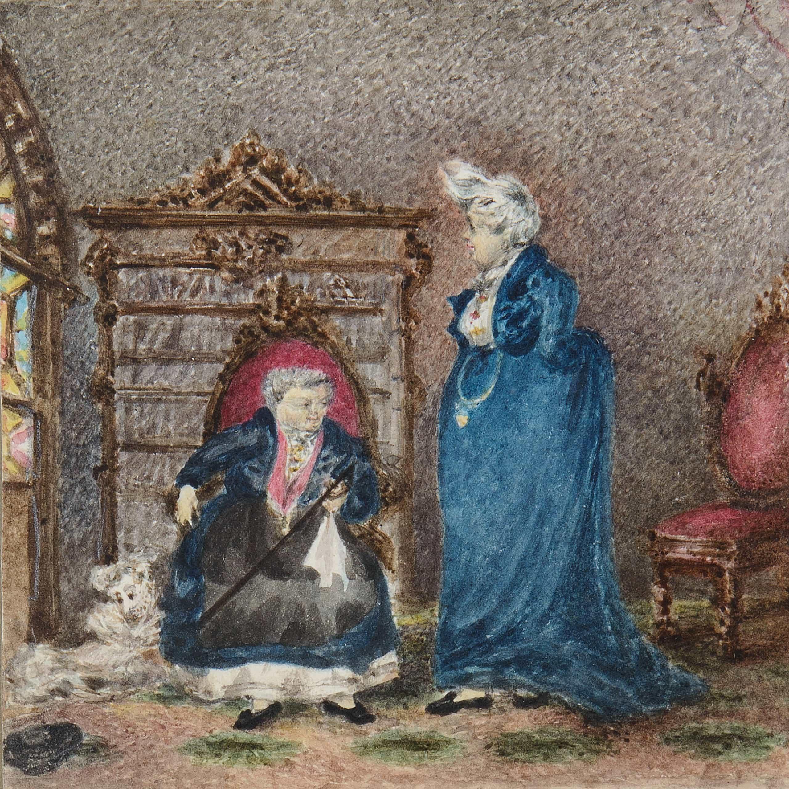 The Ladies of Llangollen at Plas Newydd - London Art Week